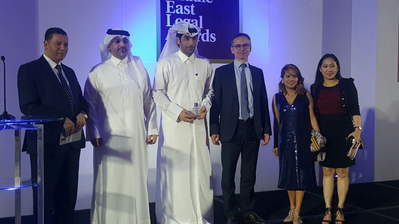 ACC Middle East Achievement Award 2017